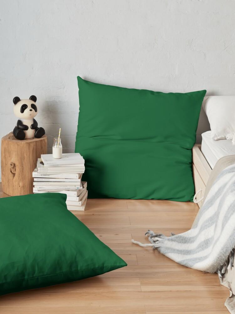 Alternate view of Green green Floor Pillow