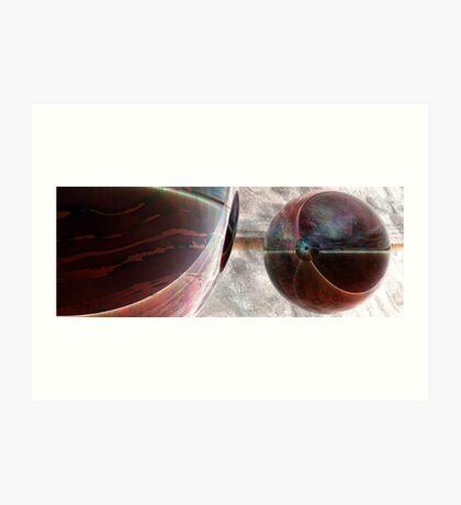 Spheroids #1 Art Print