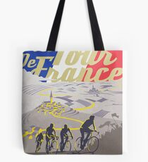 Le Tour de France retro poster Tote Bag