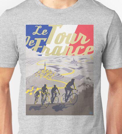 Le Tour de France retro poster Unisex T-Shirt