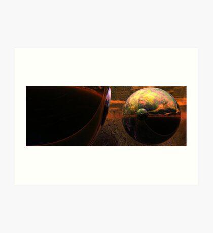 Spheroids #2 Art Print