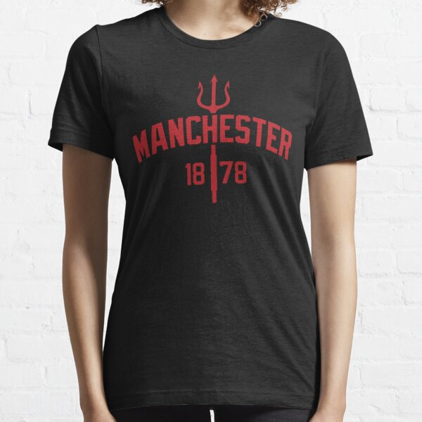 Devils of Manchester, Manchester is red, Glory Glory United Essential T-Shirt