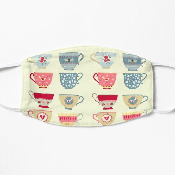 Tea Cups Flat Mask