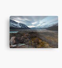 Tasman Glacier Metal Print