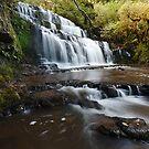 Purakaunui Falls by Rodel Joselito B.  Manabat