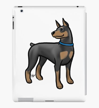 Doberman iPad Case/Skin