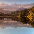 Lake Matheson by Rodel Joselito B.  Manabat