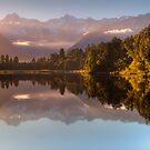 Lake Matheson by Rodel Joselito B.  Manabat