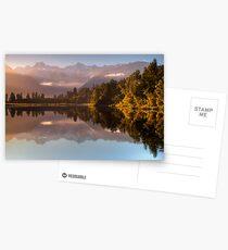 Lake Matheson Postcards