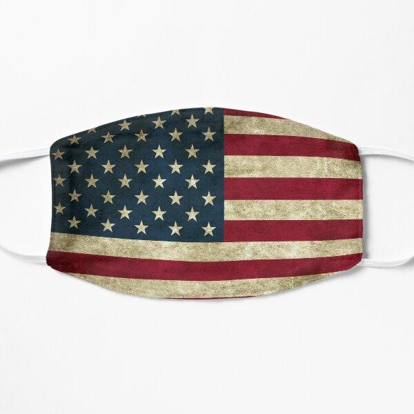 usa flag face mask  Flat Mask