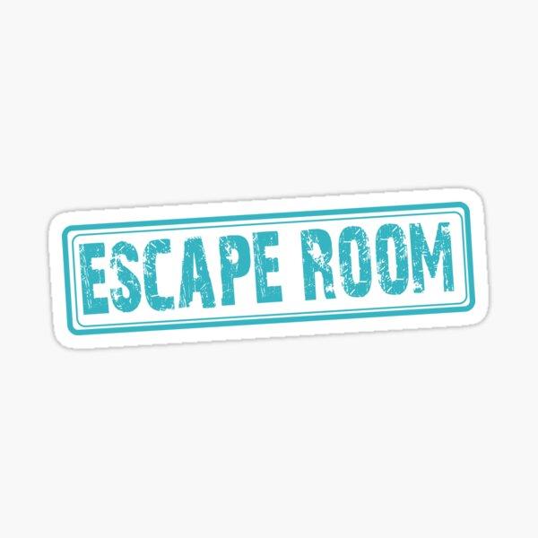 Escape Room - Exit Game Sticker