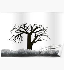 Tree in Seasons - 1 Poster