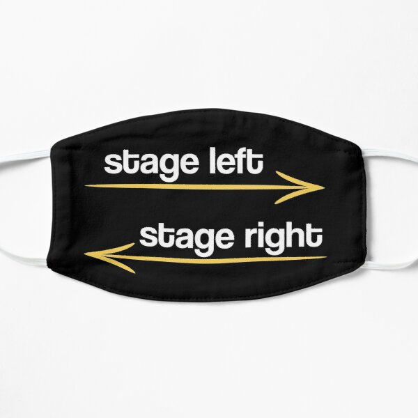 Stage Left Stage Right Theater Theatre Musical Drama Mask