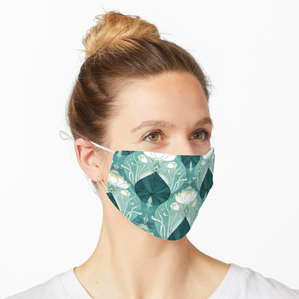 Nouveu Waterlily Mask