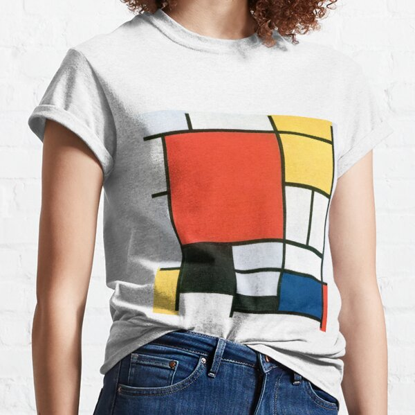 Piet Mondrian, Composition in red, yellow, blue and black Classic T-Shirt