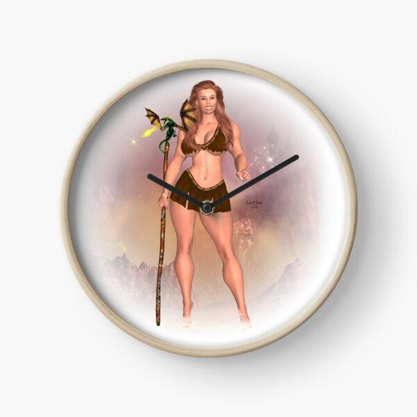 Drachenmädchen Uhr