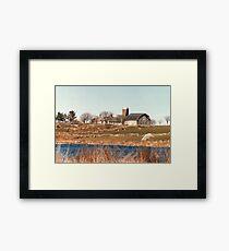 Old New England Farm Framed Print