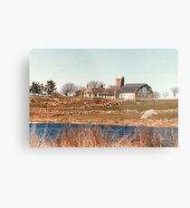 Old New England Farm Metal Print