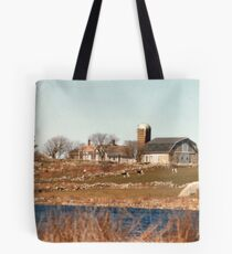 Old New England Farm Tote Bag