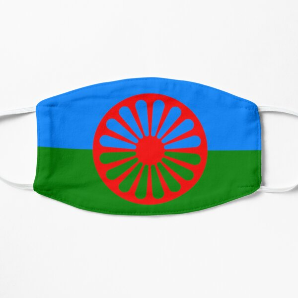 gypsy flag Flat Mask