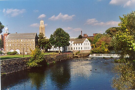 Slater Mill Complex by Barry Doherty