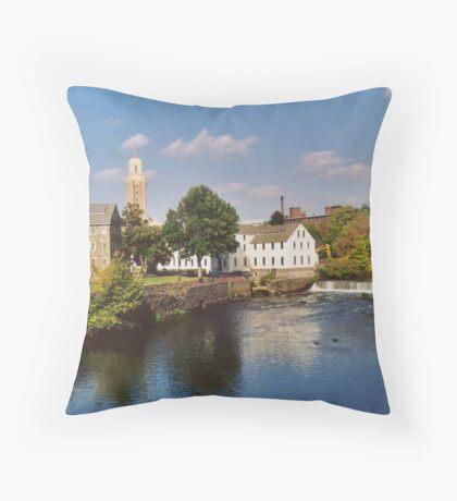 Slater Mill Complex Throw Pillow