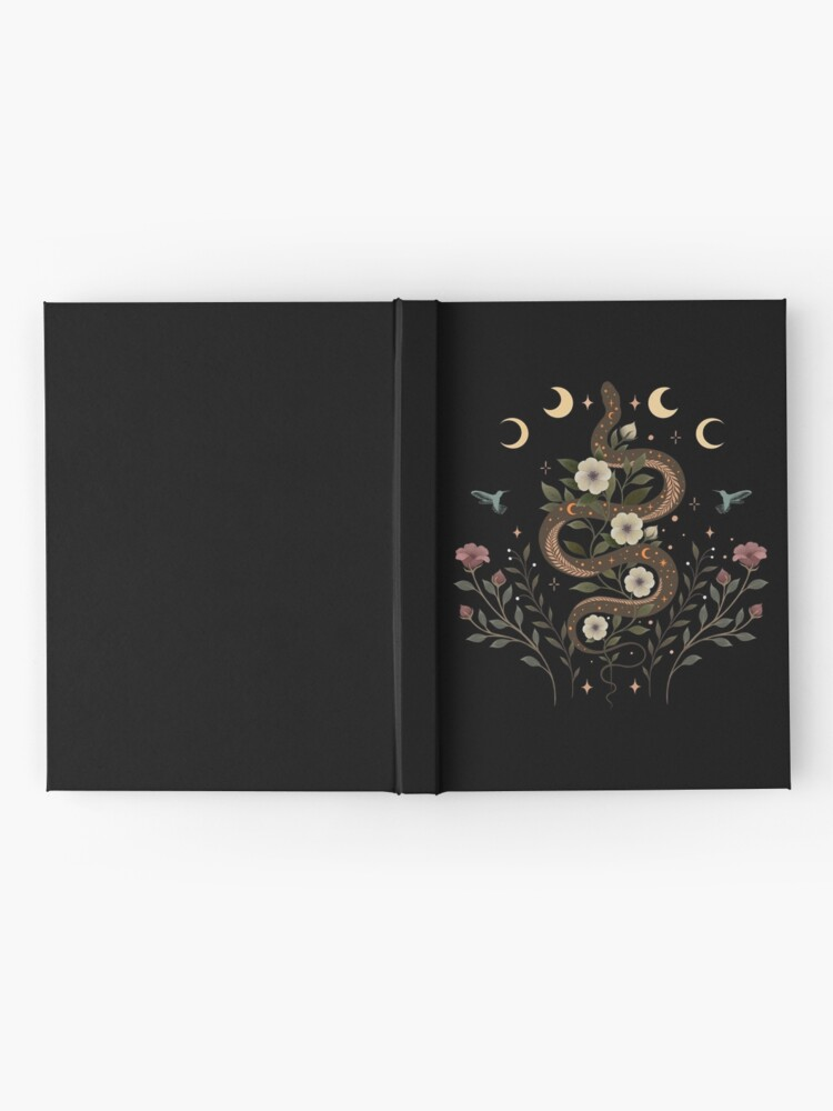 Alternate view of Serpent Spell-Colour  Hardcover Journal