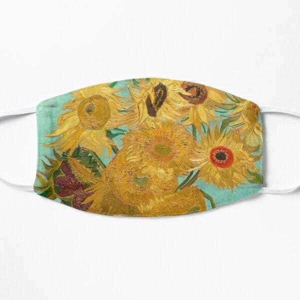 Vase with Twelve Sunflowers by Vincent Van Gogh 1889  Flat Mask
