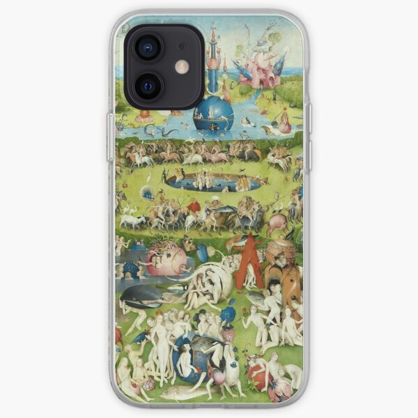 The Garden of Earthly Delights by Hieronymus Bosch iPhone Soft Case