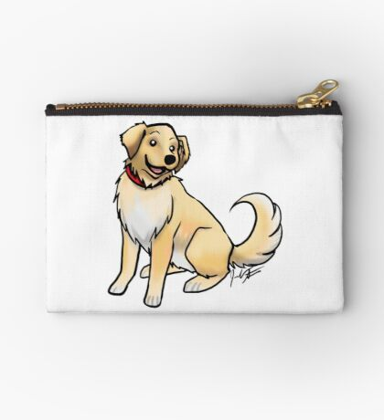 Golden Retriever Studio Pouch