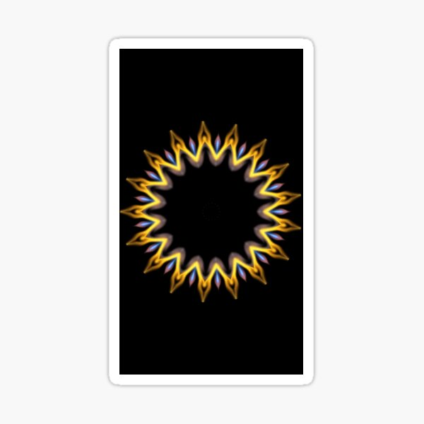 mandala #3 Sticker