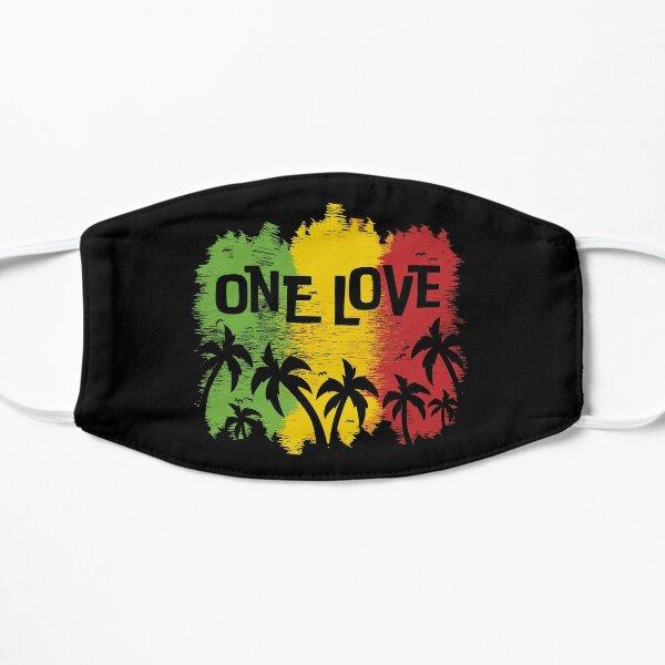 One Love Music Reggae Rasta Mask