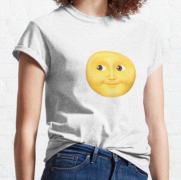 Moon Emoji Classic T-Shirt