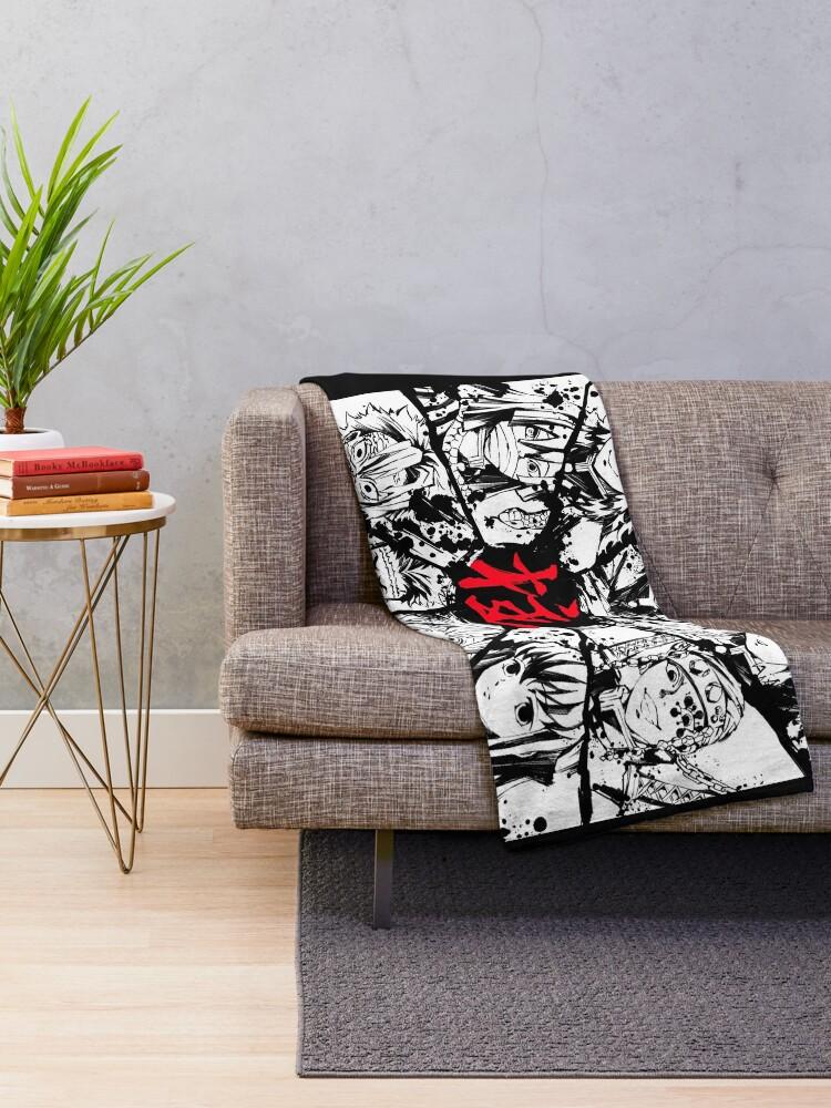 Alternate view of Kimetsu No Yaiba Pilars Throw Blanket