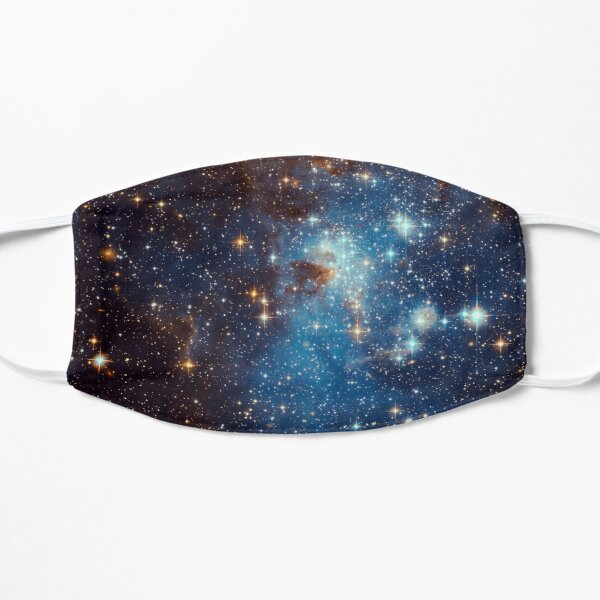 Blue Nebula Stars Space Flat Mask
