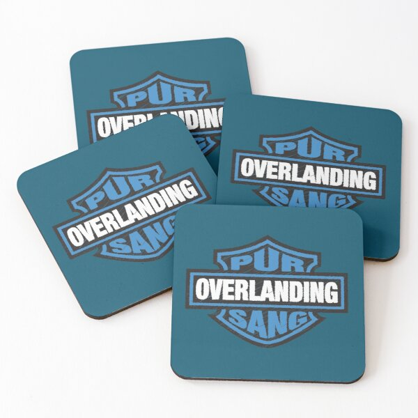 Overlanding Pur Sang Coasters (Set of 4)