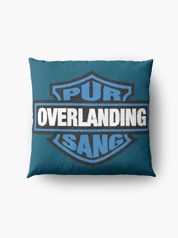 Alternate view of Overlanding Pur Sang Floor Pillow