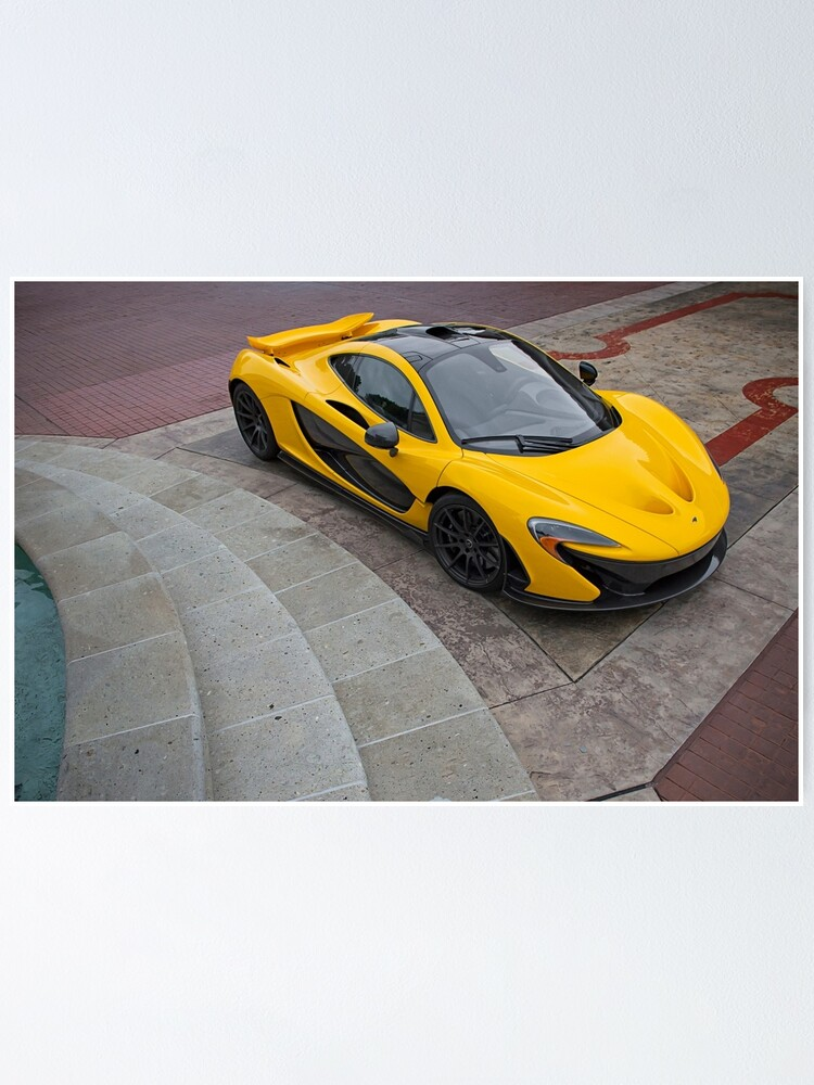McLaren P1 Coupe Poster