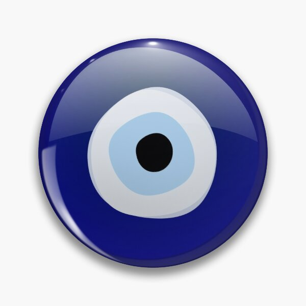 Mediterranean Evil Eye Protection Pin