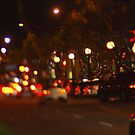 West Hollywood Lights 1 by Rebecca Dru