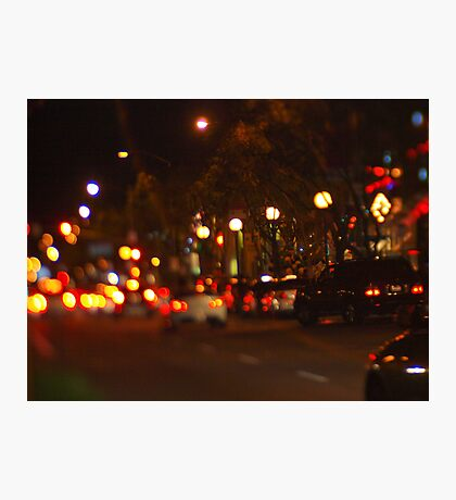 West Hollywood Lights 1 Photographic Print
