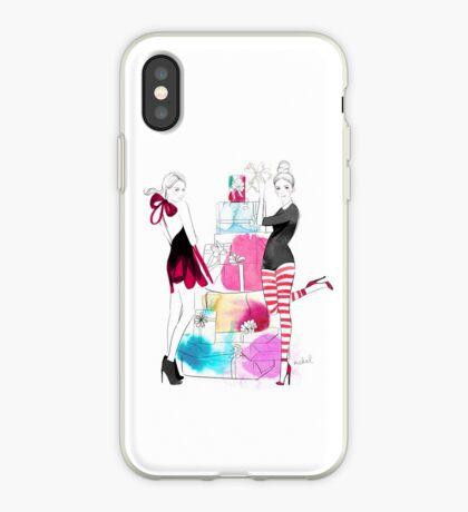 Christmas Girls iPhone Case