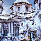TREVI  FOUNTAIN,  ROMA..................! by Roy  Massicks