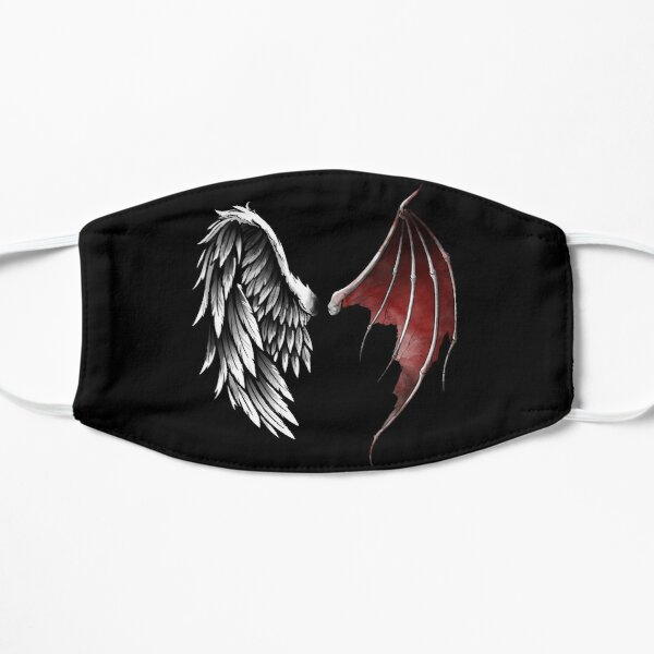 Lucifer wings Flat Mask