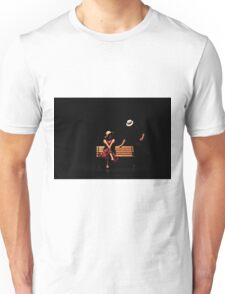 Couple on a park bench at night (stage performance)  Unisex T-Shirt