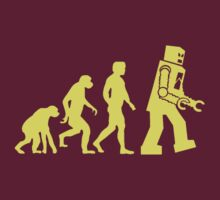 Sheldon Robot Evolution
