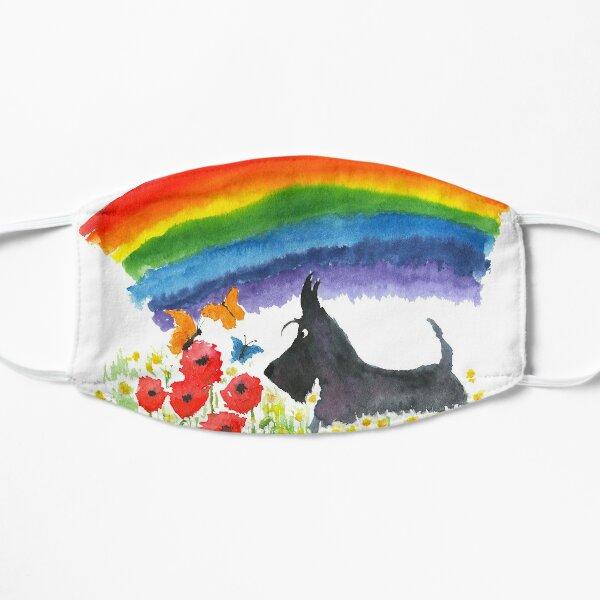 Scottie Dog Rainbow Mask