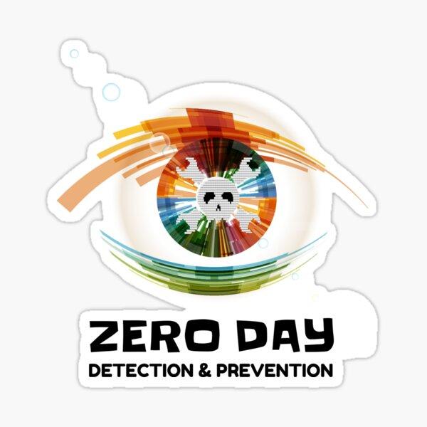 Hackers Zero-Day Detection &  Prevention eye Sticker