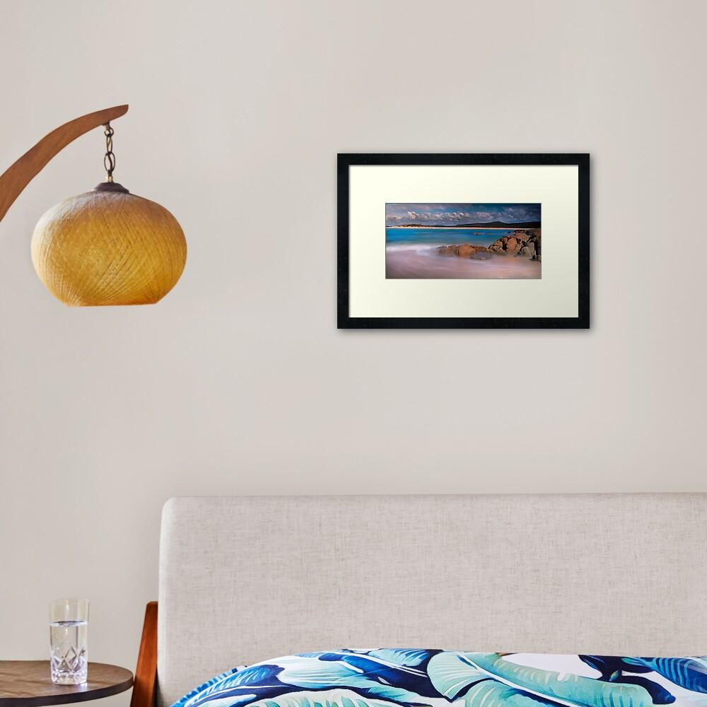 North East River - Flinders Island Framed Art Print