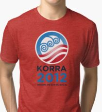 Korra 2012 Tri-blend T-Shirt